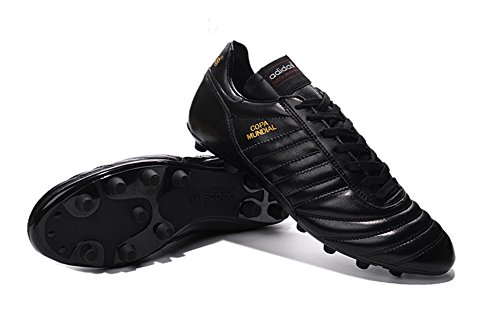 ZhromgYay Shoes Scarpe da calcio da uomo, motivo: coppa del mondo di calcio, Uomo, Black, 42