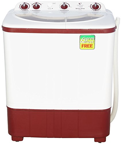 Videocon VS60A12-DMU Storm Prime Semi-automatic Top-loading Washing Machine (6 Kg, Dark Maroon)