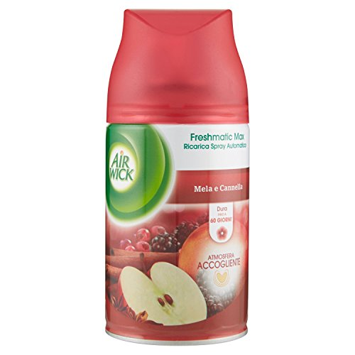 Air Wick Fresh Matic Recharge Spray Automatique Pomme et cannelle