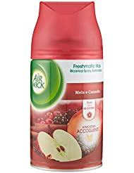 Air Wick Fresh Matic Ricarica Spray Automatico, Mela e Cannella - 250 ml