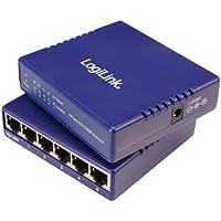 LogiLink Fast Ethernet Desktop Switch  5-Port