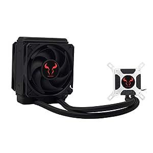 RIOTORO BIOFROST 120TI 2 x 120 mm Fan PWM 3000+ RPM Water Cooling Kit - Black