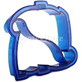 Generic Free Shipping Dinosaur Shaped Sandwich Cutter Cookie Biscuit Cutter - Blue