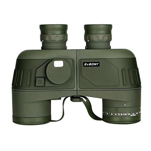 Svbony 7x50 Militär Fernglas SV27 HD Marine Ferngläser Wasserdicht BAK4 Porro Prism mit internem...