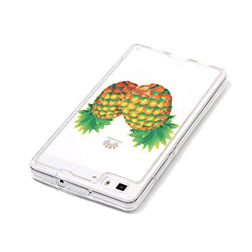 Huawei P8 Lite Cover Nera,Felfy Custodia Huawei P8 Lite Ultra Sottile Stampato Retro Disney Silicone Gomma Morbido TPU Gel Protettiva Bumper Cover Resistente Antiurto Protezione Slim Copertura della C #1