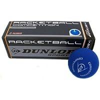 Dunlop 3x Squashbälle Farbe : BLAU / Anfänger