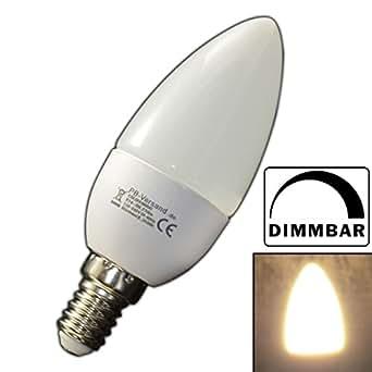 dimmbare e14 led kerze 3 watt kerzenform warmwei birne energiesparlampe lampe strahler f r. Black Bedroom Furniture Sets. Home Design Ideas