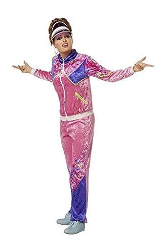 Wilbers Kostüm Jogging Anzug 80er Jahre Dame XXXL 56 Damenkostüme 80ties (80 Anzug Kostüm)