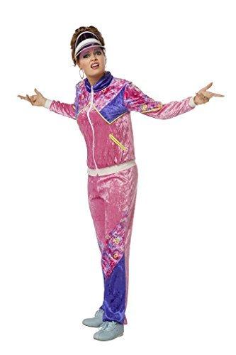 Wilbers Kostüm Jogging Anzug 80er Jahre Dame XXXL 56 Damenkostüme (Jahre Mädchen Der Kostüme 80er)