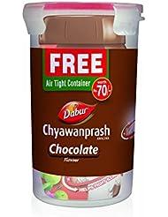 Dabur Chyawanprash Awaleha - Immunity Boost Chocolate - 900g (Free Air Tight Container)
