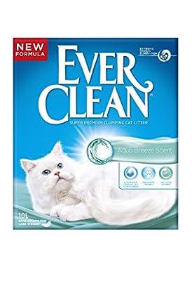 Ever Clean Cat Litter 10 Litre, Aqua Breeze by Clorex Company