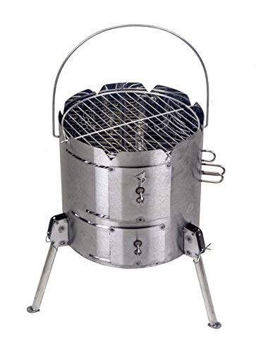 Potjie King - Pot Ofen für Potjie, Dutch Oven usw. sowie zum Grillen (Ofen Outdoor-camp)