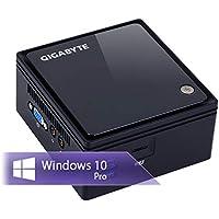 Ankermann-PC BRIX NUC 6-Watt Mini Office Work, 8GB RAM, 240GB SSD, Windows 10 Pro, unhörbar Leise, WLAN Bluetooth