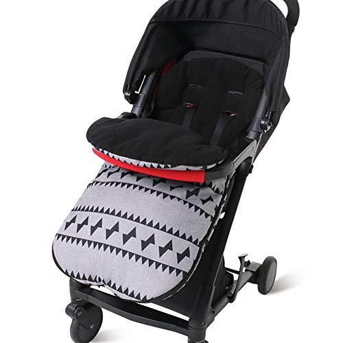 per Colchonetas Silla de Paseo Universales para Bebés Saco de Abrigo Multifuncional Invierno Cojines para Carrito Bebés