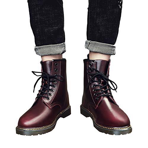 Yanhoo-scarpe stivali da equitazione,stivaletti uomo elegante,scarpe in pelle da uomo, uomo con tacco alto in pelle da uomo business casual