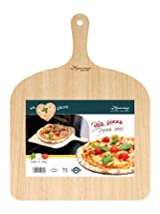Idea Regalo - Natural Beechwood Pizza Paddle/Peel