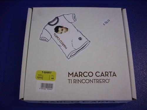 marco carta ti rincontrerò special ed cd+t shirt