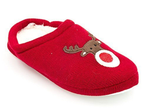 SlumberzzZ, Pantofole donna Rosso (rosso)