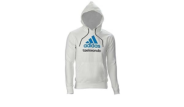 adidas Community line Hoody Taekwondo weiß: : Sport