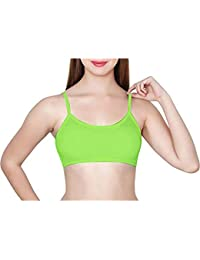 5ca7e512933 BJAC 199 Women s 6 Straps Lilac Crowned Amazon Parrot Padded Bralette ( Removable Pads)