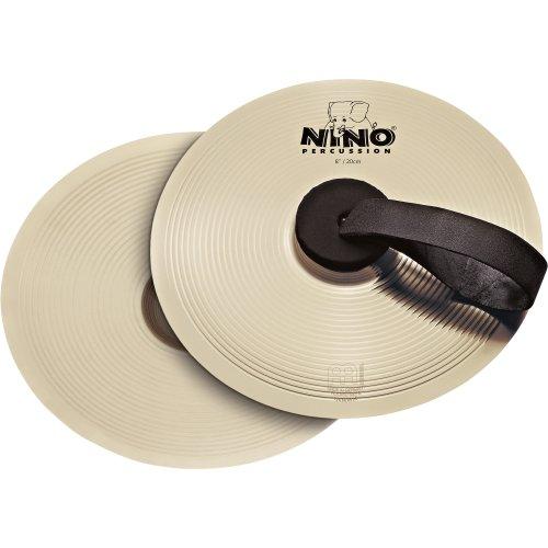 Nino Percussion NINO-NS20 Becken Paar 20,3 cm (8 Zoll) FX9 Legierung