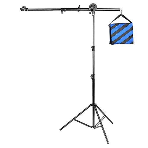 """Neewer® Foto Studio Pro 71 """"/ 180cm Aluminium Alloy Reflektorhalter Armstütze & 83"""" / 210cm Licht Stand für Fotografie Aufnahmen (Reflektor nicht enthalten)"""