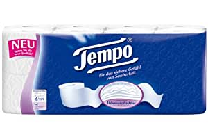 Tempo Toilettenpapier weich und extra stark, 4-lagig, 16 Rollen