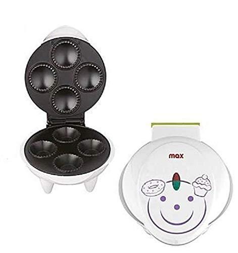 Max Casa Macchina Piastra Antiaderente Per Muffin Cupcake 1200w