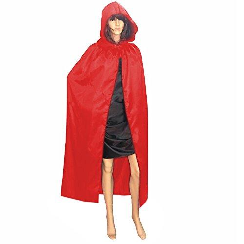 Cuitan 130cm Long Hooded Cloak Cape for Adults Women Men ff8d7e928