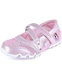 Kinder Mädchen Sandalen Geschlossen Mesh Schuhe Rutschfest Atmungsaktiv Prinzessin Flach Kinderschuhe Frühling Sommer