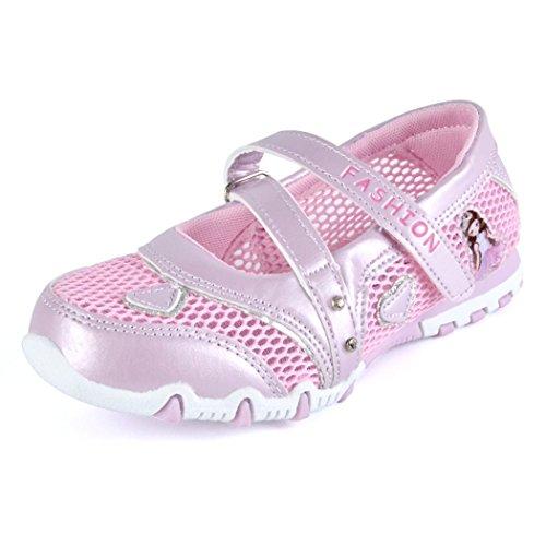 Kinder Mädchen Sandalen Geschlossen Mesh Schuhe Rutschfest Atmungsaktiv Prinzessin Flach Kinderschuhe Frühling Sommer -