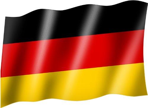 Flagge/Fahne DEUTSCHLAND Staatsflagge/Landesflagge/Hissflagge mit Ösen 150x90 cm, sehr gute Qualität