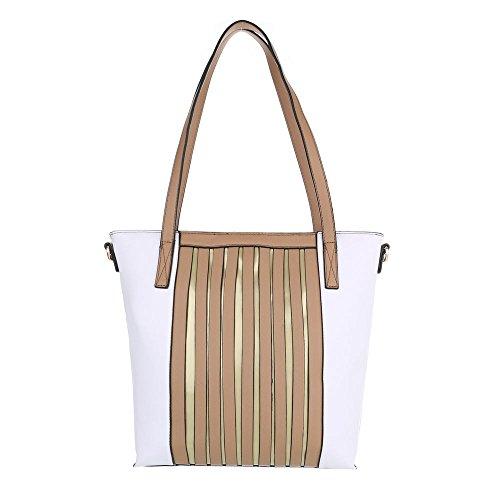 Taschen Handtasche Beige