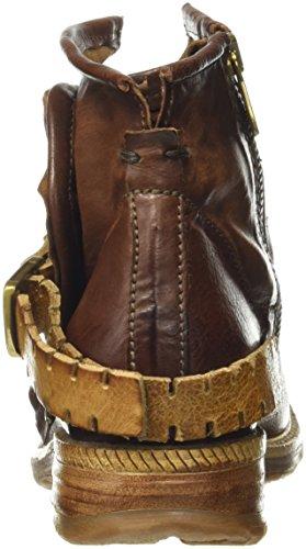 A.S.98 Damen Saint14 Biker Boots Braun (castagne/Castagn/natur/Castagn/Castagn) xVRuyXq