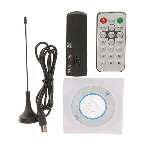 Generic RTL2832U+R820T USB 2.0 Digital DVB-T SDR+DAB+FM HDTV TV Tuner Receiver Black  available at amazon for Rs.930