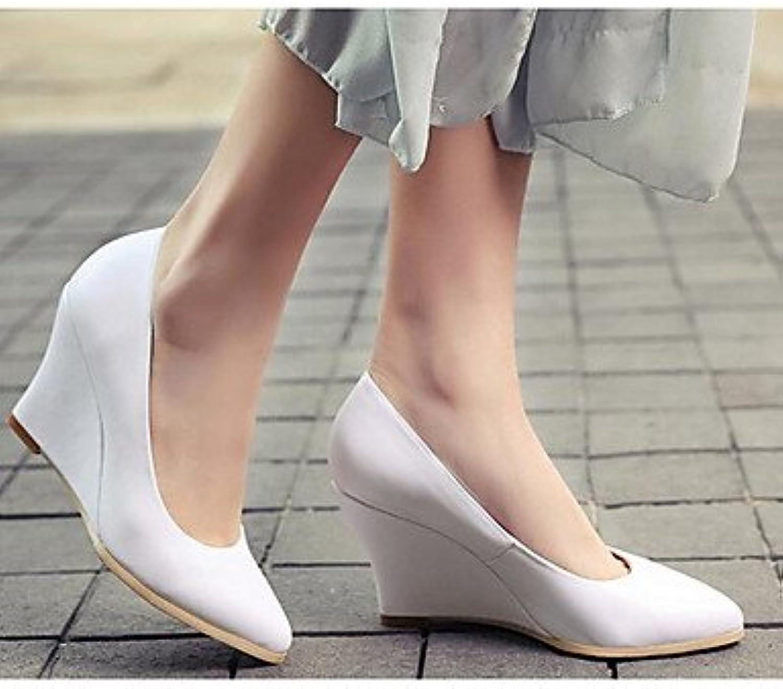 La Mujer Sneakers Confort Fabricada Con Cuero De Vaca Primavera Confort Informal Nude Negro Blanco Plana Blanca...