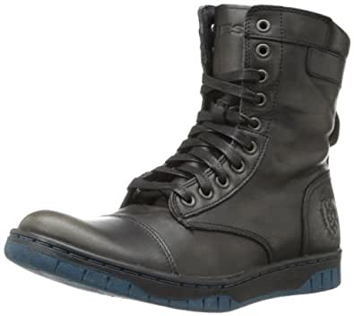 Diesel Men's Tatradium Basket Butch Zip Boot,Black,12 M US