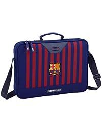 FC Barcelona 611829385 2018 Maletín, 38 cm, Azul
