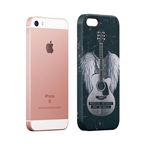 You Are What You Listen To Custodia Posteriore Sottile In Plastica Rigida Cover Per iPhone 7 Plus & iPhone 8 Plus Slim Fit Hard Case Cover Wings