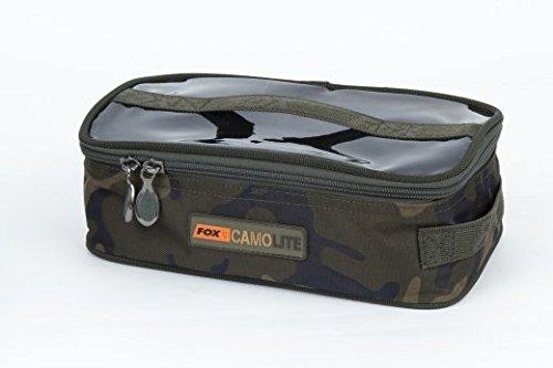 Fox Accessory Bag Large - Camolite Tasche, Angeltasche, Anglertasche, Karpfentasche, Tackletasche, Tasche für Angelzubehör (Fox Bag Fur)