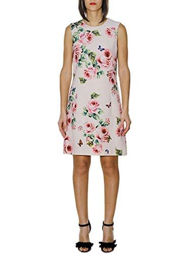 Dolce E Gabbana Damen F67f2tfs3bdhah41 Rosa Wolle Kleid (& Gabbana Dolce Damen-kleider)