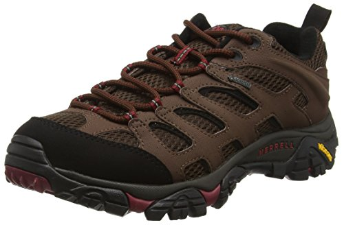 merrell-moab-gore-tex-mens-lace-up-low-rise-hiking-shoes-brown-potting-soil-9-uk