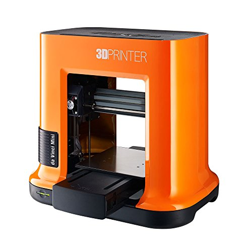 XYZprinting Stampante 3D da Vinci mini w (interamente Assemblata), Wireless, Vol. Build 15 X 15 X 15 cm