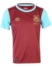 Umbro 2015-2016 West Ham Home Football Soccer T-Shirt Maglia (Kids) 1adf9666ff24
