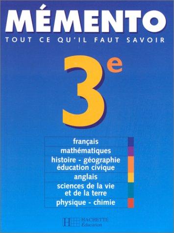 Mémento, 3e, 2000