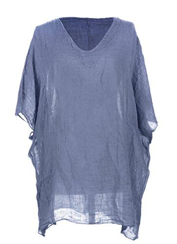 Generic - Camicia - Basic -  donna Cornflower Blue