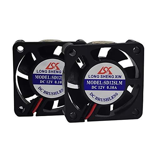HAWKUNG 2 Pieza Impresora 3D Ventilador de Enfriamiento Extrusora Accesorio 4010 40...