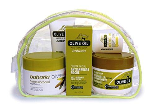 babaria Olivenöl Geschenk-Set 5 Produkte 675 ml