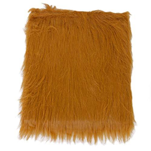 SeaStart Perücke, Löwenmähne für Halloween-Kleidung für Hunde, Kostüm - Braun