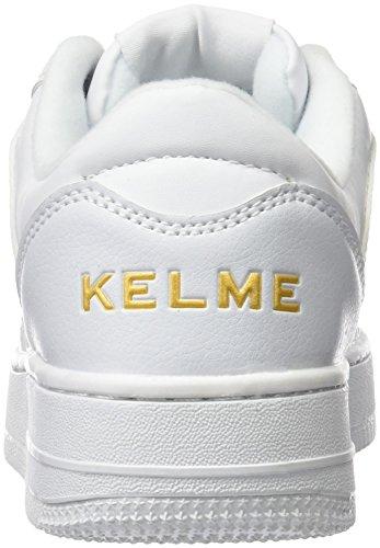 Kelme Retro, Baskets Basses Mixte Adulte Blanc Cassé - blanc